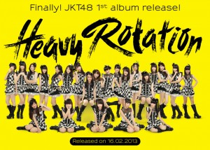 Rilis Album Ke-1 JKT48 - HEAVY ROTATION